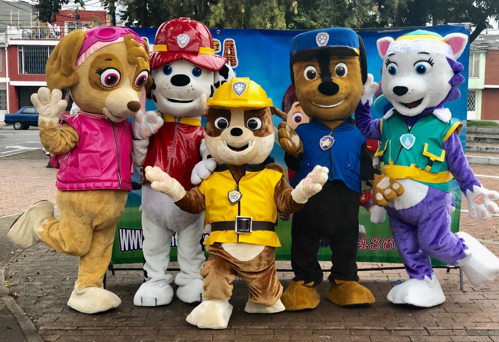 Paw Patrol Fiestas Infantiles, Recreacionistas para Niños ...